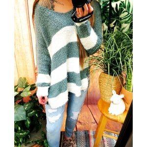 Ultra soft cozy furry plush oversized sweater ☕️